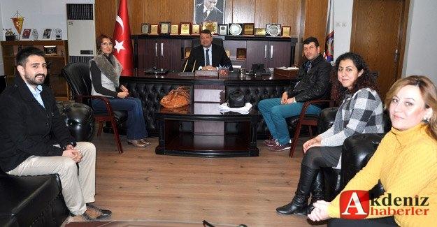 Mimarlar Odası'ndan Başkan Turgut'a ziyaret
