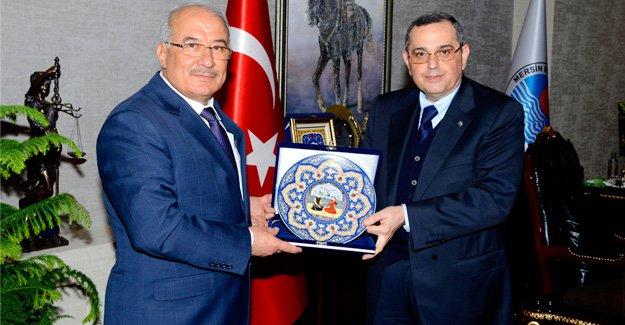 Büyükelçi'den Başkan Kocamaz'a ziyaret