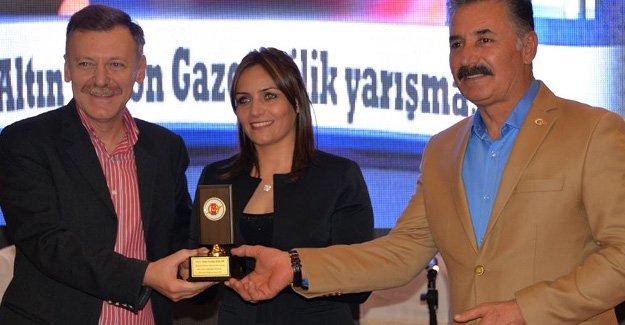 Ceylan'a  Gazetecilik Ödülü