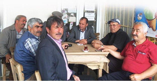CHP'li Uçar, Muhtarların sorunlarını dinledi