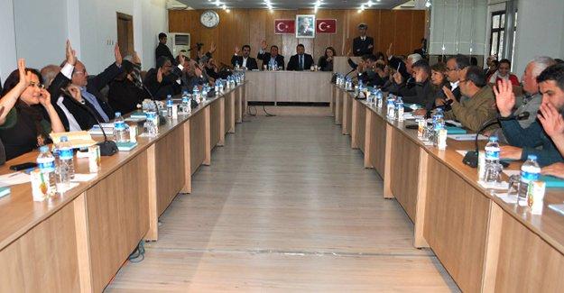 Silifke'de yeni yılın ilk meclisi toplandı
