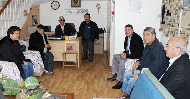 Turgut'tan Engelliler Derneğine ziyaret