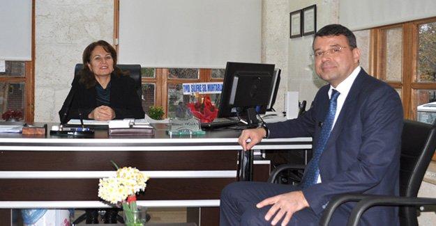 Turgut'tan Nüfus Müdürü Doğan'a ziyaret