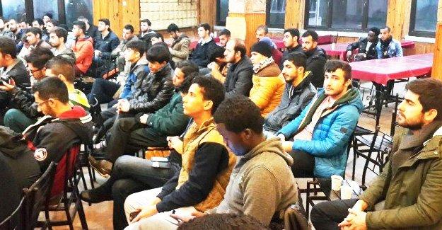 14 ülkeden 42 öğrenci Silifke'de