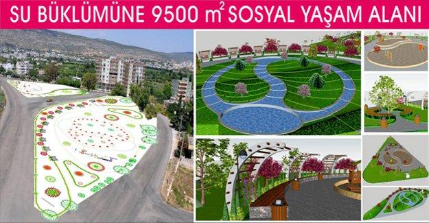 Belediye'den 9500 m2'lik Sosyal Yaşam Alanı