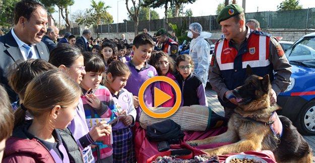 Çocuklara Jandarma sevgisi aşılandı
