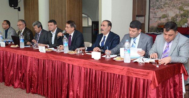 Koordinasyon toplantısı Silifke'de gerçekleşti