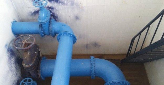 Silifke'deki su depoları bakımdan geçirildi