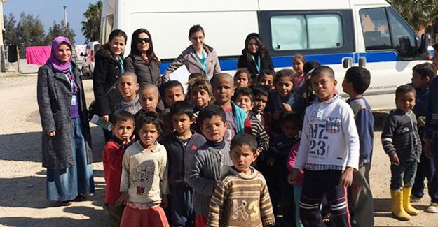 Suriyelilere sağlık hizmeti