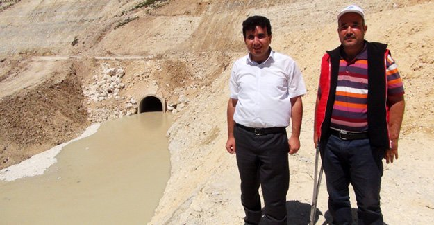 Araziler Aksıfat'la hayat bulacak