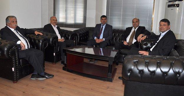 Başhekim'den Başkan Turgut'a ziyaret