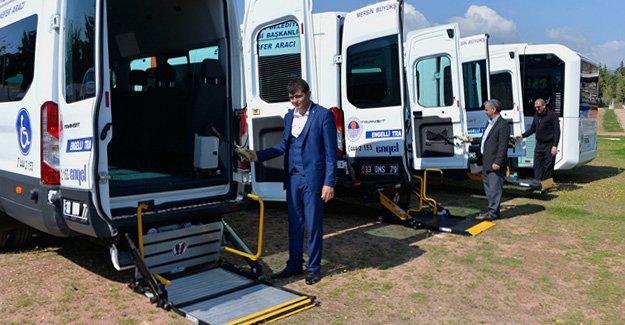 Engellilere yeni transfer aracı