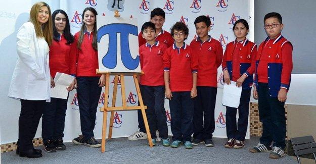 GAÜ Silifke Koleji Dünya 'Pi' gününü kutladı