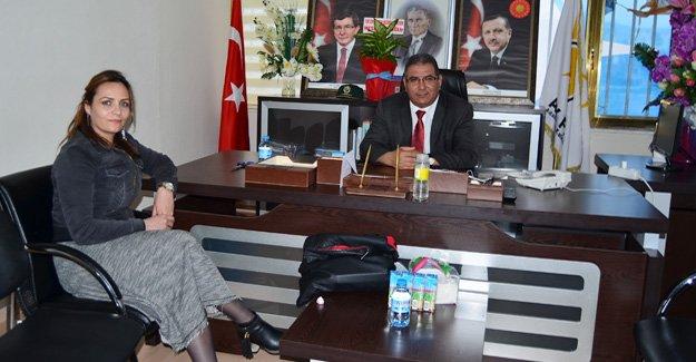 Gazetemizden Yeni Başkan Çetin'e ziyaret