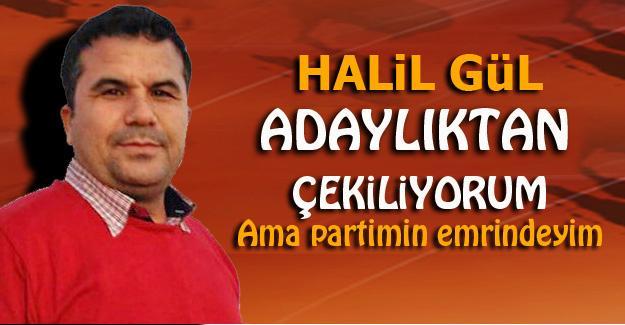 Halil Gül'den açıklama