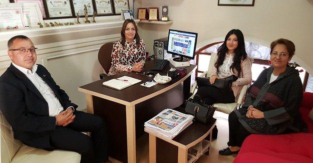 Kız Yurdu Müdürü Tatar'dan ziyaret