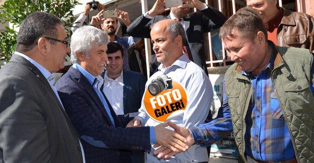 Vekil Tezcan'dan Başkan Çetin'e tam destek
