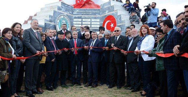 Musa Eroğlu Sevgi Parkı açıldı