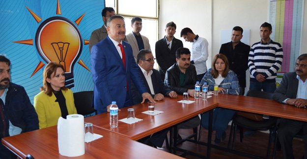 Özkan'dan Başkan Çetin'e ziyaret