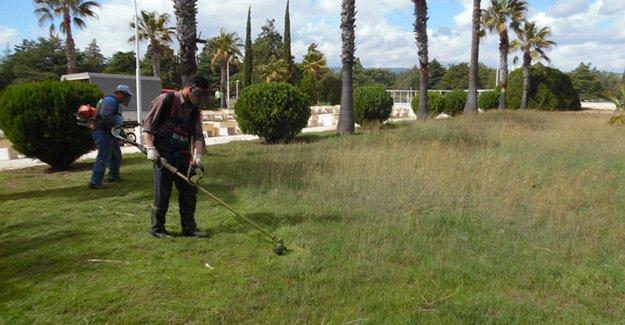 Silifke Belediyesi, Kıbrıs Şehitliğini temizledi