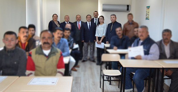Silifke'de 15 hükümlü girişimcilik belgesi aldı