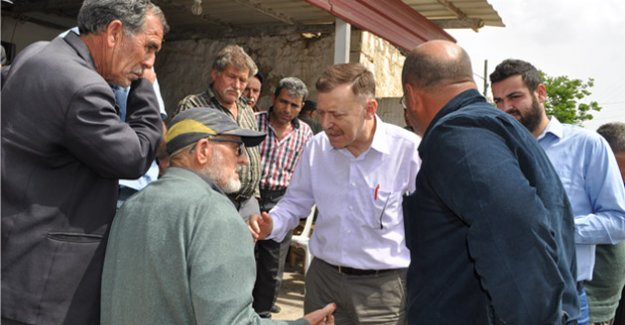 CHP'li Atıcı, Silifke'de mahalle ziyaretleri yaptı