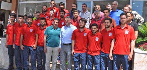 Şampiyon Takımdan Başkan Turgut'a teşekkür