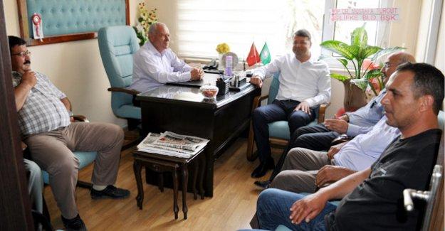 Başkan Turgut'tan Hayırlı Olsun Ziyareti
