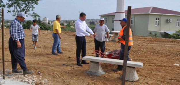 Başkan Turgut'tan Sarıcalar'a park müjdesi