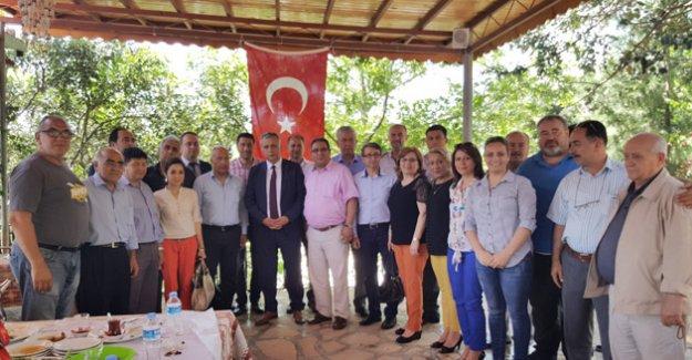 Kaymakam, AK Parti ve Basın Buluşması