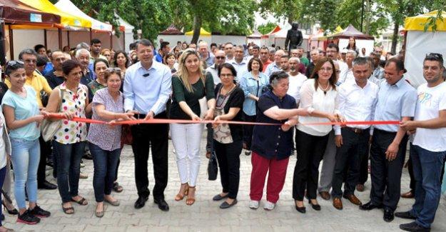 Silifke'de Kadın El Emeği Pazarı açıldı