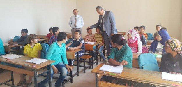 Suriyeli Çocuklar Geçici Eğitim Merkezinde eğitime başladı