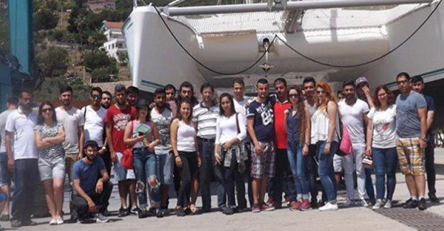 Taşucu Meslek Yüksekokulundan Turizm Teknik Gezisi