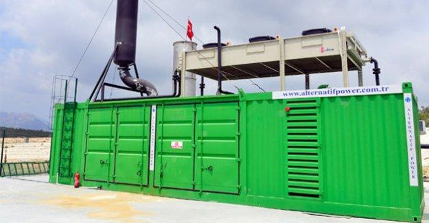 Büyükşehir Belediyesi 'Yeşil Enerji' Üretmeye Devam Ediyor