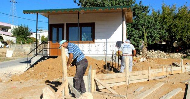 Silifke'de 'Muhtar Evleri' projesine başlandı