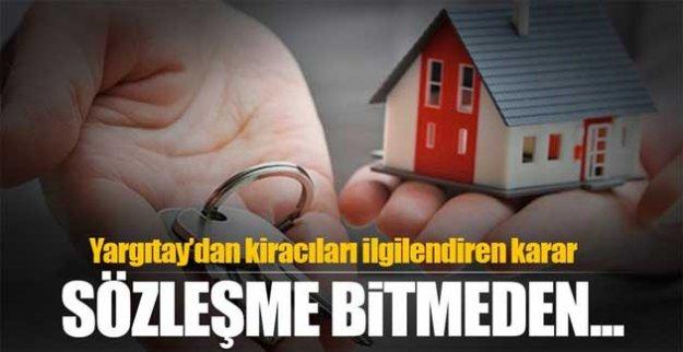 Yargıtay'dan kiracıları ilgilendiren karar