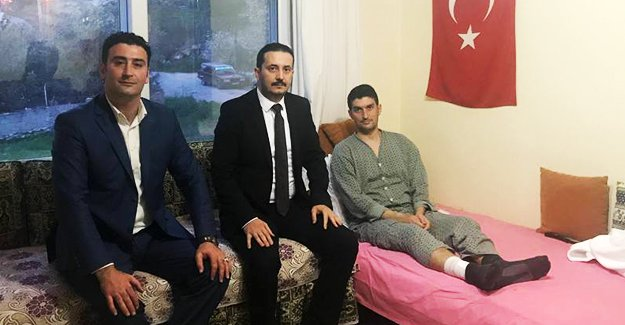MHP'lilerden Gazi Çakır'a ziyaret
