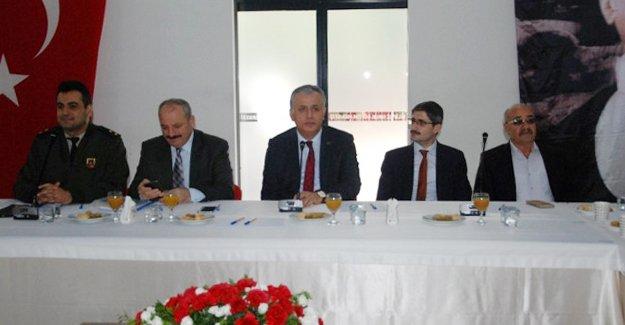 Silifke'de 'Hayat Boyu Öğrenme, Halk Eğitimi Planlama ve İşbirliği' toplantısı yapıldı