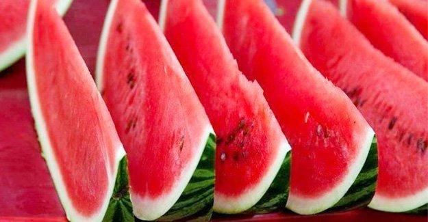 Ramazan'da en çok tercih edilen meyve: Karpuz