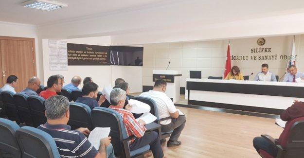 Silifke TSO Meclis ilk toplantıyı yaptı