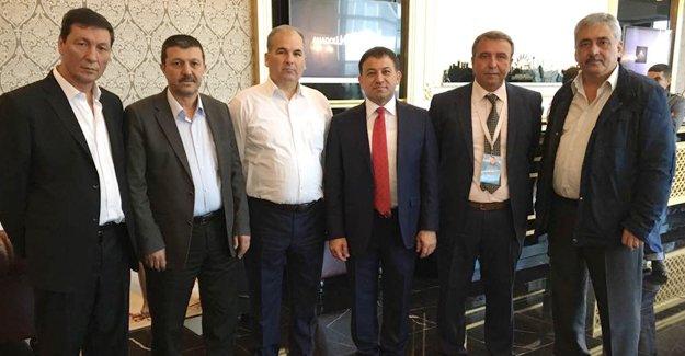 İhsan Küpük'ten Türk Sağlık Sen'e ziyaret