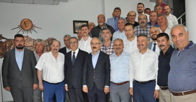 """Kalkınma Bakanı Elvan, """"Esnafa desteğimiz artarak devam edecek"""""""
