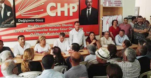 Silifke CHP'de Bayramlaşma