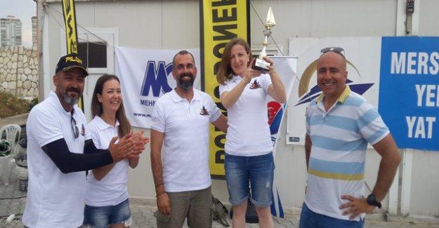 Silifke-Taşucu Yelken Kulübü üçüncü oldu