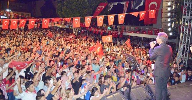 Silifke'de Milli Duruş gecesi düzenlendi