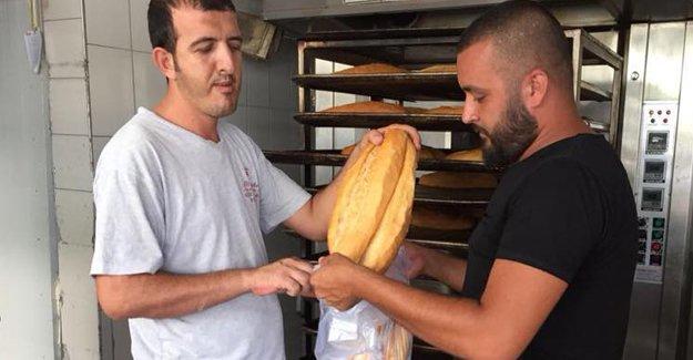 """Silifke Ülkü Ocakları'ndan """"Askıda Ekmek Kampanyası"""""""