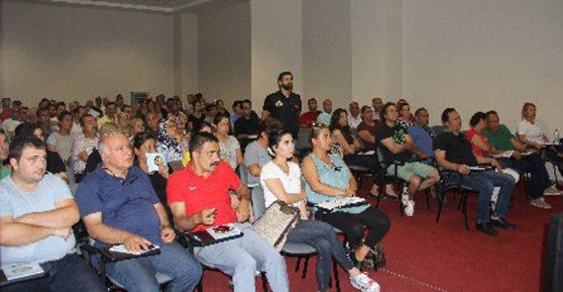 Spor İl Müdürlüğü personeline 'Terör' eğitimi