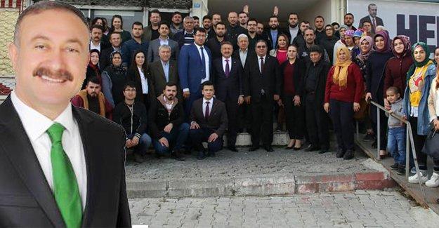 Vekil Özkan'dan teşekkür ziyareti