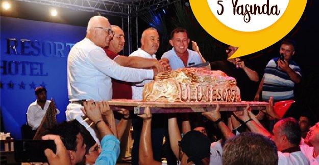 Ulu Resort Hotel 5. yılını özel bir geceyle kutladı