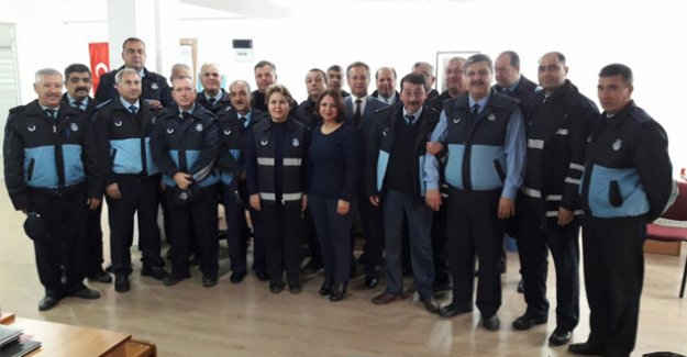 Başkan Turgut, Zabıta Haftası'nı kutladı